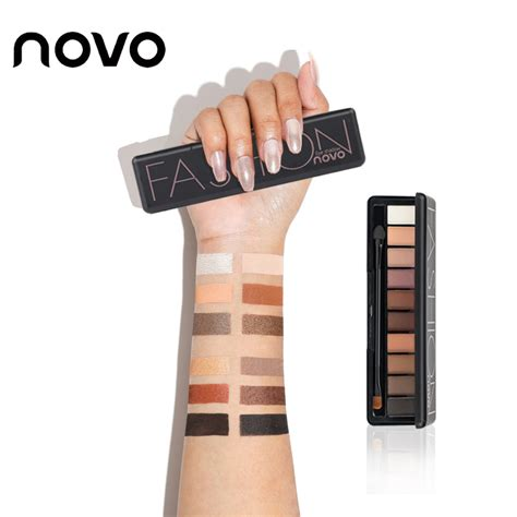 Eyeshadow Novo novo eye shadow 10colors fashion shimmer matte