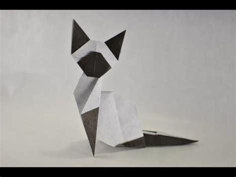 Easy Cat Origami - best 25 origami cat ideas on origami origami