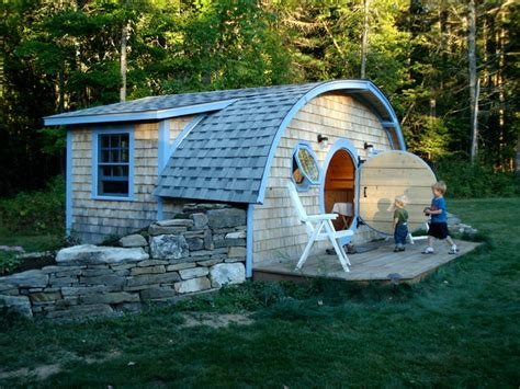 hobbit hole tiny house cottage eclectic exterior