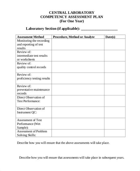 assessment form template 32 assessment forms in pdf free premium templates