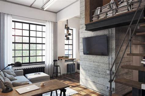 Industrial mini loft by Aleksander Raszczenko