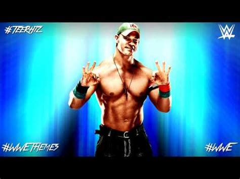 john cena theme song john cena theme song edited and his name is john