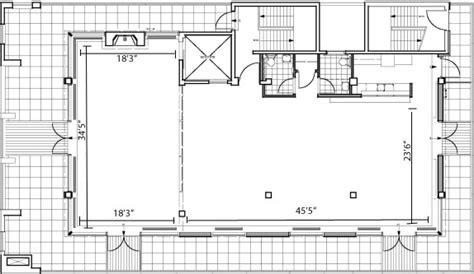 venue floor plans corporate event venue penthouse 45 new york ny