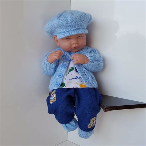 Handmade Baby Doll Clothes - handmade baby boy doll clothes for 13 quot 14 quot berenguer