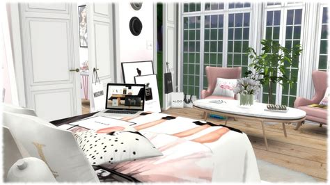 sims  speed build fashion lovers bedroom youtube