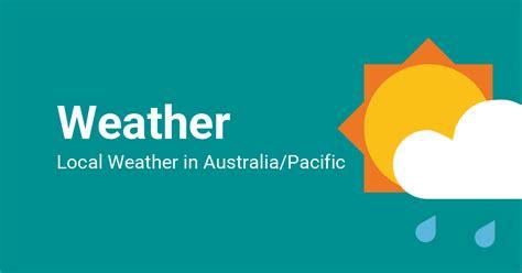 temperatures  weather  australiapacific