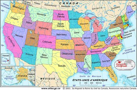 map of usa states grand carte des 201 tats unis