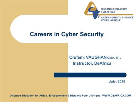 Distance Mba In Cyber Security by Careers In Cyber Security