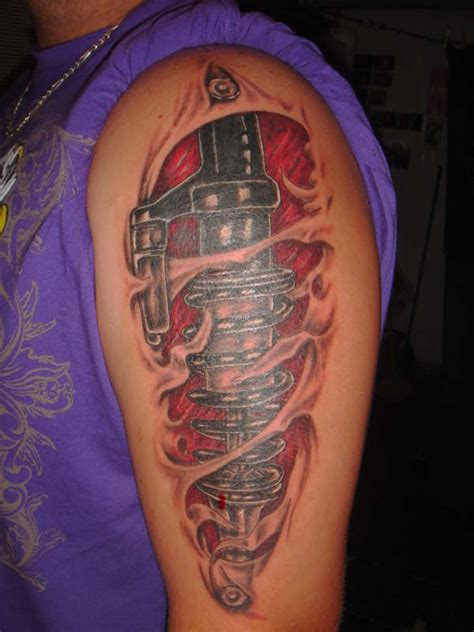 shock tattoo 42 shock absorber tattoos ideas designs