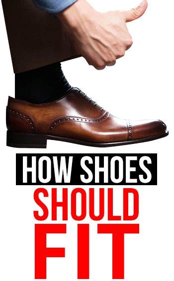 how your dress shoes should really fit stop buying the