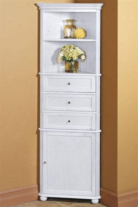 Corner Bathroom Cabinet by Bathroom Corner Linen Cabinet Bathroom Cabinets