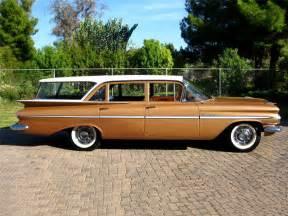 1959 Chevrolet Station Wagon 1959 Chevrolet Parkwood Station Wagon Barrett Jackson