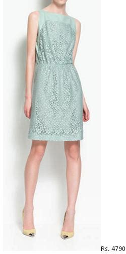 Zara Dress Big Cutting by Trend Alert Mint