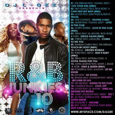 Rnb Dj Detox 08 Pt 1 Usher Lil Wayne Ginuwine by Dj L Gee Rnb Junkies 10 Mixtapetorrent