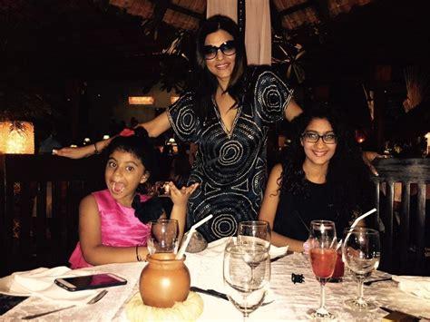 sushmita sen daughters things to know about sushmita sen and her beautiful