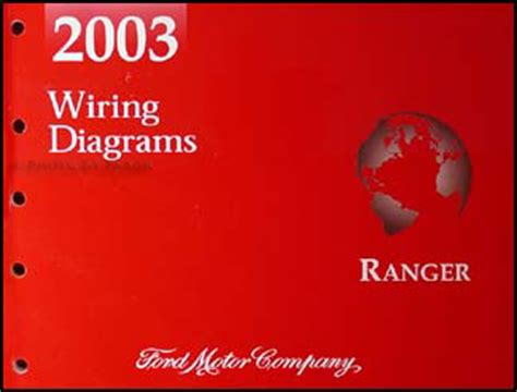 2003 ford ranger wiring diagram manual original