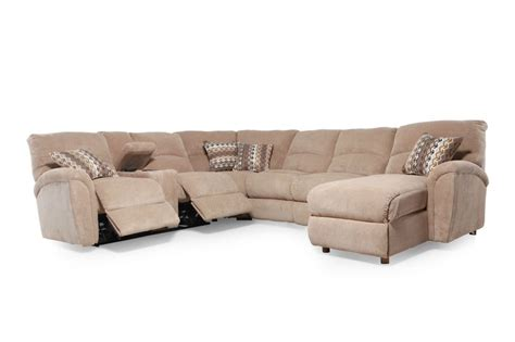 Grand Torino Sectional by Grand Torino Sectional Mathis Brothers Furniture