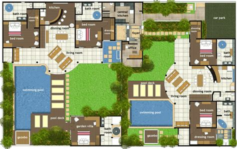 villa floor plan abadi villas 2 two bedroom villa