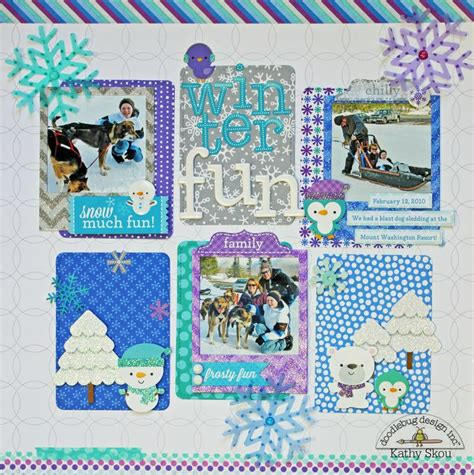 doodlebug scrapbook 94 best scrapbook doodlebug polar pals images on
