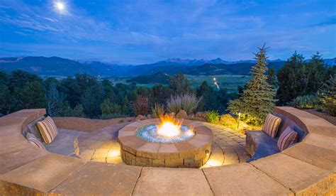 nh landscape fire pit kaibab landscaping flagstaff landscaping company design construction