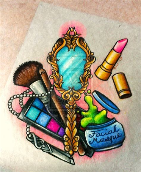 lipstick tattoo designs esthetics design commission for teafairy by