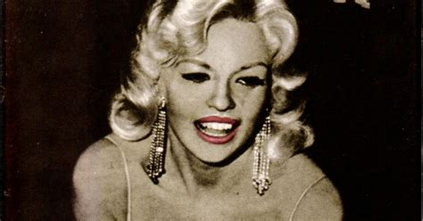 Thelma Todd: Hollywood Babylon Covergirl Jayne Mansfield Photo