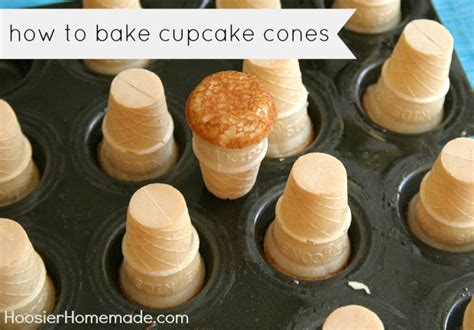 ice cream cone cupcake recipes hoosier homemade