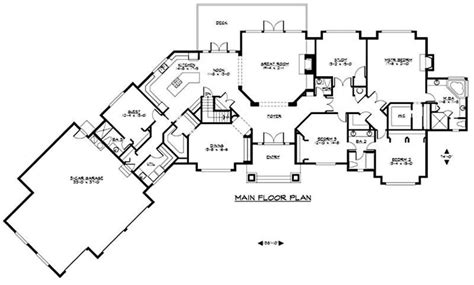 large ranch house plans large ranch house plans inspiration house plans 64580