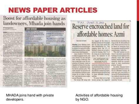 Affordable Housing In India Research Paper by Affordable Housing In India