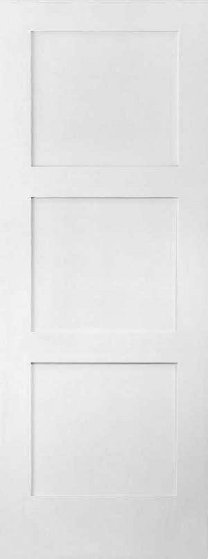 3 Panel Shaker Doors Interior by 886 3 Equal Panel Shaker Active Doors