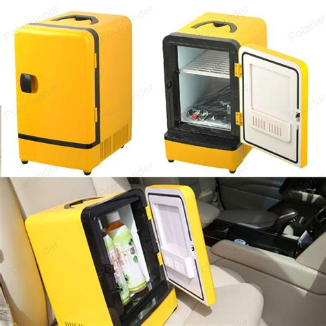 Crown Multifunction Warmer Car And Home use mini portable car fridge multi function warmer travel home cing cooler 12v 7l auto