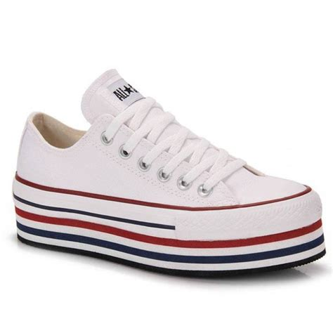 platform sneakers converse shoes converse all white sneakers platform