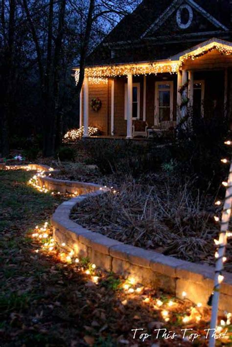 easy christmas porch lighting ideas top 46 outdoor lighting ideas illuminate the spirit architecture design