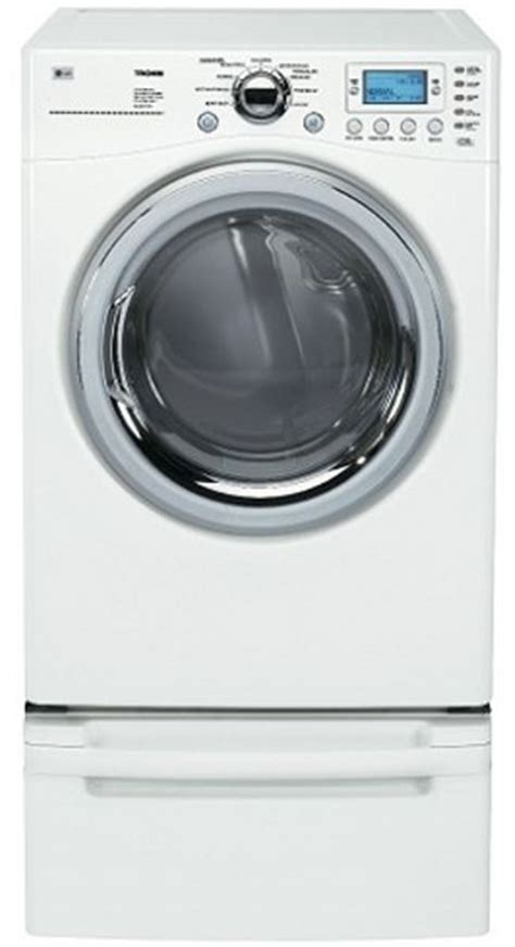 Lg Dryer Rack by Lg Dlex8377wm Front Load Electric Dryer With 7 3 Cu Ft