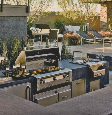 3 types of outdoor kitchens best 25 outdoor barbeque area ideas on patio ideas for barbecue porch types and