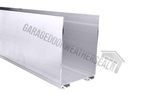 overhead garage door bottom seal garage door bottom seal retainer 3 x 2
