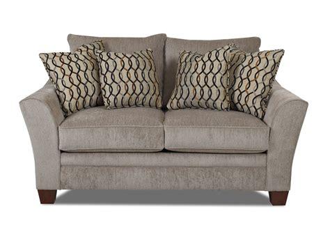 klaussner posen sofa klaussner posen contemporary loveseat value city