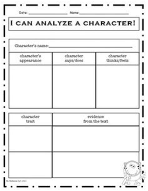 1000 Images About Graphic Organizers On Pinterest Graphic Organizers Adjectives Activities Character Analysis Template High School