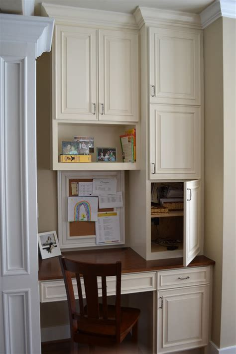 kitchen desk ideas marvelous computer desk with hutch in kitchen traditional