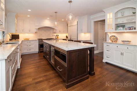 Custom Kitchen Cabinets by Custom Kitchen Cabinets In Nj Kountry Kraft