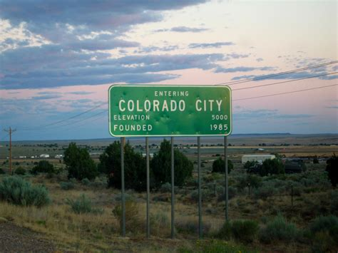 of colorado colorado city arizona