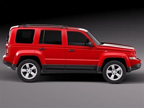 Jeep Patriot Models 3d Model 2014 Suv Jeep