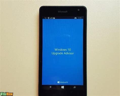 Microsoft Lumia Update Update A Microsoft Lumia Phone To Windows Mobile 10 Visihow