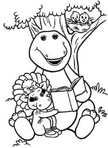 pics photos barney friends coloring pages