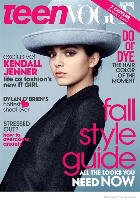 Miller Lands The September Cover Of Us Vogue by Kendall Jenner Lands Two Vogue Covers For September