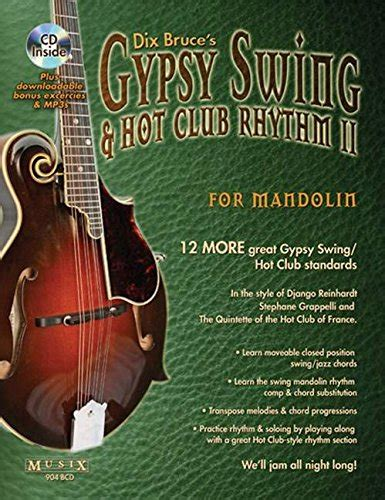 string and swing memphis gypsy swing hot club rhythm ii for mandolin