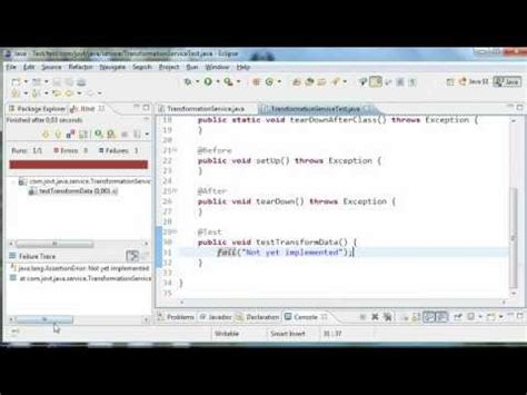tutorial eclipse youtube junit tutorial in eclipse part 1 javavids youtube