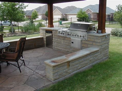 Outdoor Patio Designs Kitchen An Outdoor Grill Grill Outdoor