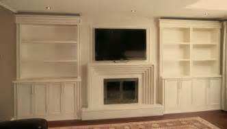 Built In Bookcases Around A Fireplace Built In Units Around Fireplace Traditional Other