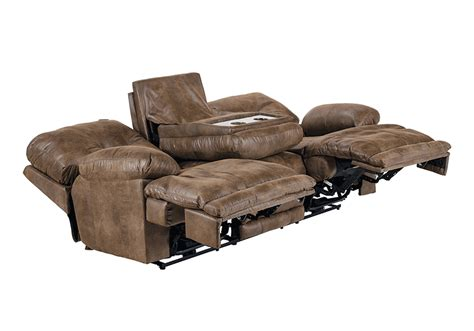 lay flat recliner sofa voyager elk lay flat triple reclining sofa lexington